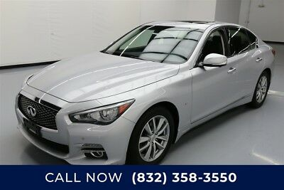 Infiniti Q50 Premium Texas Direct Auto 2014 Premium Used 3.7L V6 24V Automatic AWD Sedan Bose