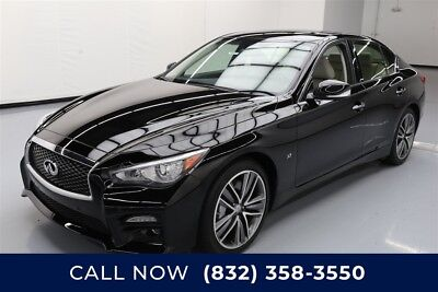 Infiniti Q50 Sport Texas Direct Auto 2015 Sport Used 3.7L V6 24V Automatic AWD Sedan Bose Premium