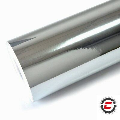 Mirror Chrome Vinyl Car Wrap (Air/Bubble Free) Various Size & Colours
