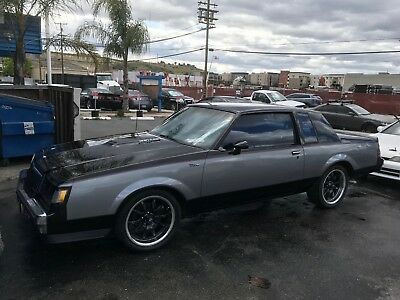 1985 Buick Grand National T Type 1985 Buick T Type Grand national.