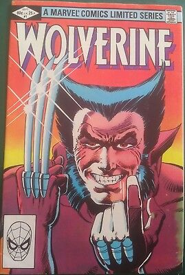 WOLVERINE (1982 Miniseries) #1 Frank Miller VG+  Direct Edition