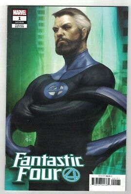 Fantastic Four #1 Set - Regular Main Cover Plus All 4 Artgerm Variant Covers