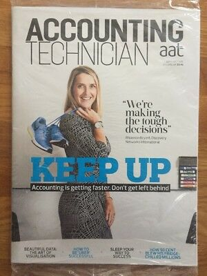 AAT Accounting Technician Magazine Sep/Oct 16 SEALED Keep Up Rhiannon Bryant