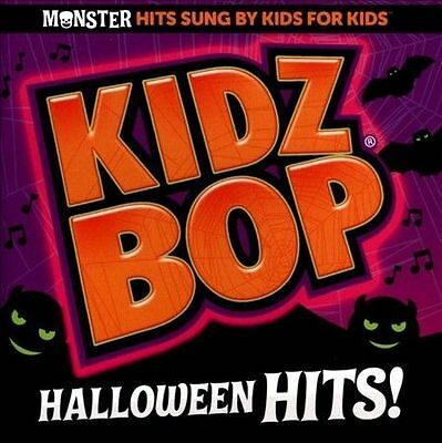 kidz bop halloween hits cd kidz bop kids brand new sealed