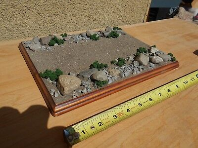 LARGE 1/35 Built, Diorama Base  road, large, 1/48, 1/72 Military, Tank, Infantry
