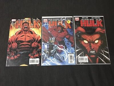 Hulk 1 Variant Of 5 & 14 First Appearance Of Red Hulk 2008 Marvel Comic