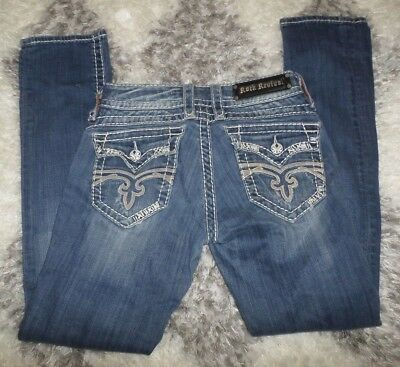 Rock Revival Morgan Straight Skinny Jeans Sz. 27