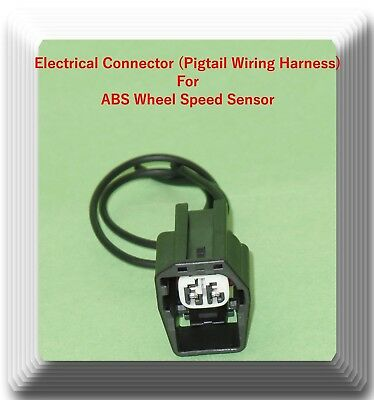 2 x Electrical Connector of ABS Wheel Speed Sensor ALS484 Front L//R Fits GM