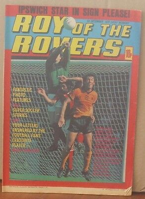ROY OF THE ROVERS 1st December 1979 Tommy's Troubles The Hard Man MIghty Mouse