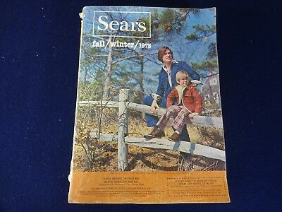 Vintage 1975 Midwest SEARS Fall & Winter Catalog w 1492 Pages *Estate Find*