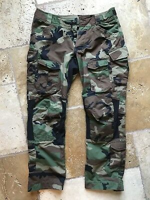 Beyond Clothing Woodland A9A Advanced Mission Pant Combat SF CAG Med Gen1 Rare