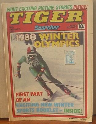 TIGER and SCORCHER 29th December 1979 Johnny Cougar Hotshot Hamish Billy's Boots