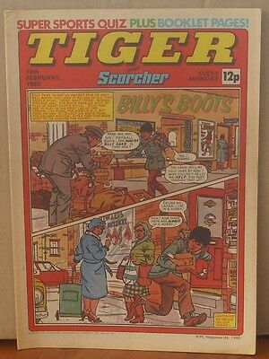 TIGER and SCORCHER 16th February 1980 Johnny Cougar Hotshot Hamish Billy's Boots