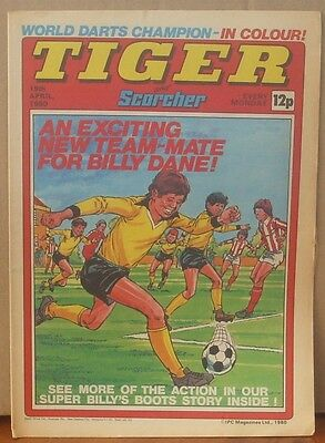 TIGER and SCORCHER 19th April 1980 Johnny Cougar Hotshot Hamish Billy's Boots