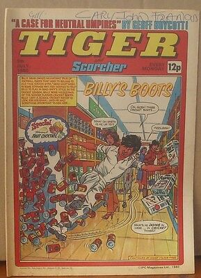 TIGER and SCORCHER 5th July 1980 Johnny Cougar Hotshot Hamish Billy's Boots