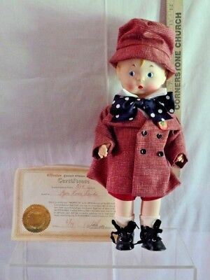 VTG SKIPPY-79 a 1979 Effanbee Doll w/Certificate & Box Limited Edition (D 05)
