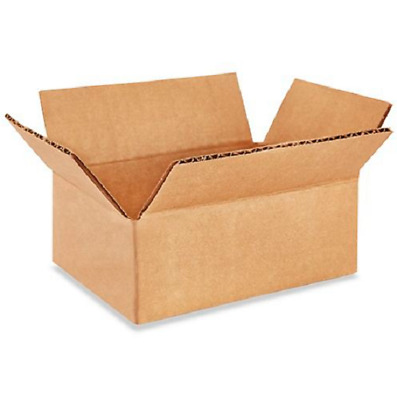 100 5x4x2 Cardboard Paper Boxes Mailing Packing Shipping Box Corrugated Carton