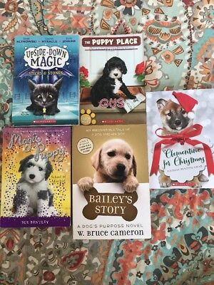 Puppy And Kitty Girls Books Baileys Story, Upside Down Magic