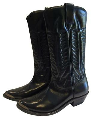 New! Retail $1,000 Golden Goose Deluxe Brand Black Leather Tall Boots