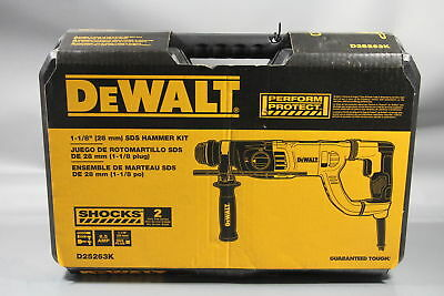DEWALT-D25263K 1-1/8 In. SDS Rotary Hammer Kit *NEW*