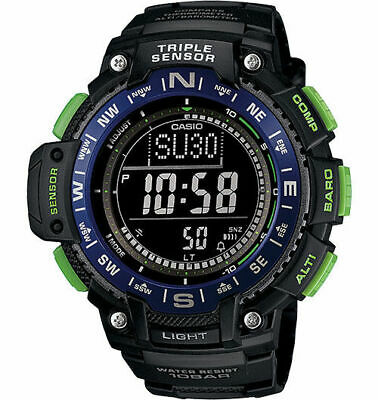 Casio SGW1000-2B Men's Altimeter Braometer Compass Thermometer Sports Watch