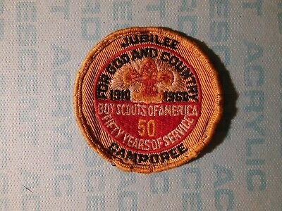 Boy Scout patch, 1960 Jubilee/Camporee, 50 Years, Colorado Springs CO