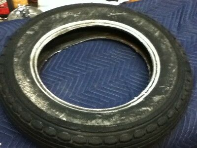Harley Knucklehead Panhead Nos Beck Front Runner 16 X 3.00  Tire