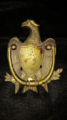 Antique/Vintage Brass Eagle Door Knocker by Washington Company