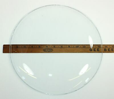 """New Old Stock 12-5/8"""" Convex Clock Glass Wp434"""