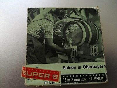 Saison in Oberbayern HEIMFILM Super 8mm Film Piccolo Film München