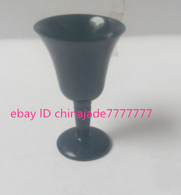 China's rare yuanyang jade manual polishing cocktail jade cup