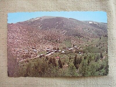 Vintage Post Card 1974  Silver City, Idaho Corregated Edging