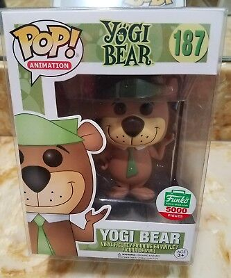 Funko Pop! Yogi Bear Hanna Barbera Funko Shop Exclusive Good Box + Protector
