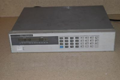 Hewlett Packard Hp 6060A Dc Electronic Load