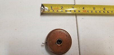 Vintage Antique Tape Measure Brass