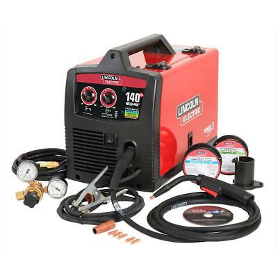 NEW - Lincoln Electric Pro Mig 140 Mig/Flux-Cored Wire Fee Welder K2480-1