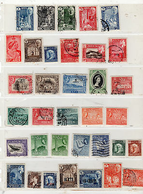 Aden  Stamps  Canceled Used  & Mint Hinged    Lot 28159