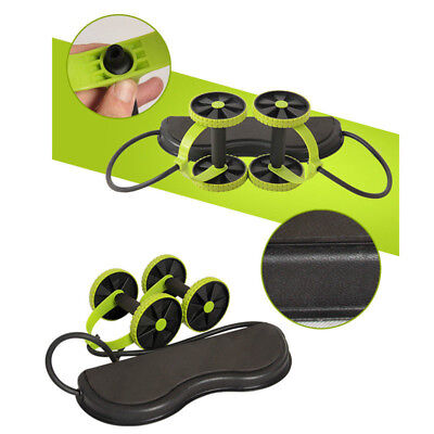 Abdominal Trainer Waist Slimming Exerciser Core Double Wheel Fitness Equiment