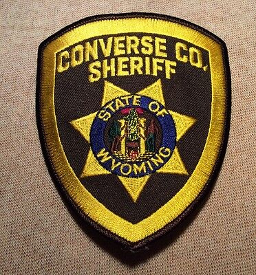 WY Converse County Wyoming Sheriff Patch (New)