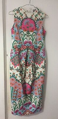 ASOS Bright Floral Maternity Dress Size 8