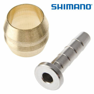 GENUINE - Shimano SM-BH90 Hydraulic Compression Olive & Hose Insert *UK SELLER*
