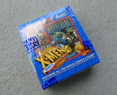SkyBox Marvel X-Men Trading Cards Box Series II 1993 - Sealed - New