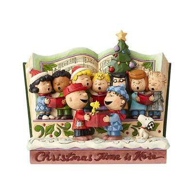 Jim Shore Peanuts 2018 SPREADING JOY CHRISTMAS TIME IS HERE STORYBOOK 6000983