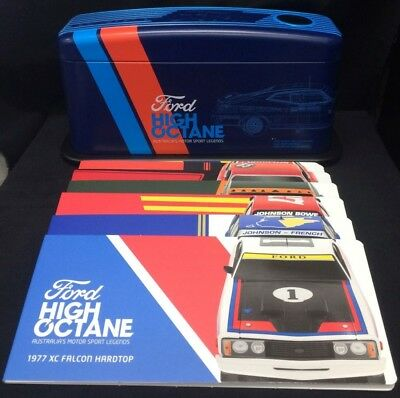 Australia 2018 50c Ford Tin High Octane Collection Set of 7