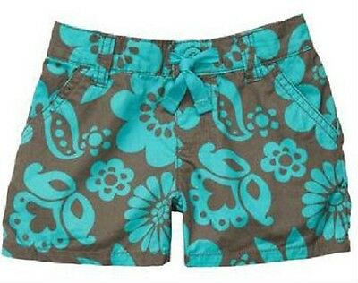 NEW NWT Girls Carter's 6 Months Floral Pull On Shorts Summer Time