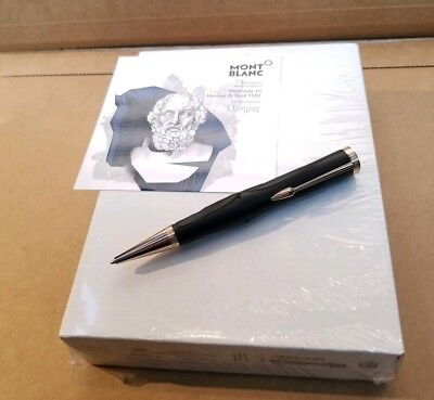 New Ballpoint MONTBLANC homage to HOMER limited writers edition Sealed 117878