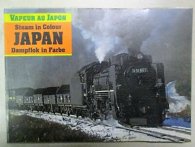 Steam in Colour Japan Book, Vapeur au Japon, Dampflok in Farbe - 112 pages