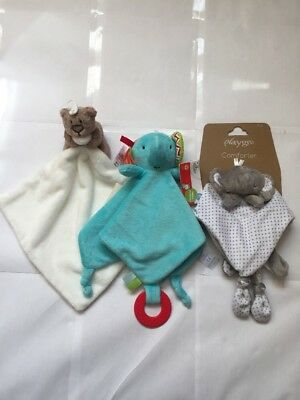 New Born Baby Comforters x 3 Items As Per Photo. **NEW**