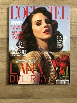 L'OFFICIEL Magazine Lana Del Rey