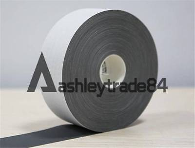 "3M*5cm Silver Reflective Tape Safty Strip Sew On Trim Gray Synth Fabric 2""x10FT"